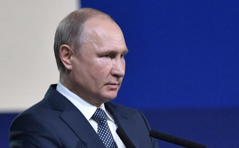 Cовещание Владимира Путина