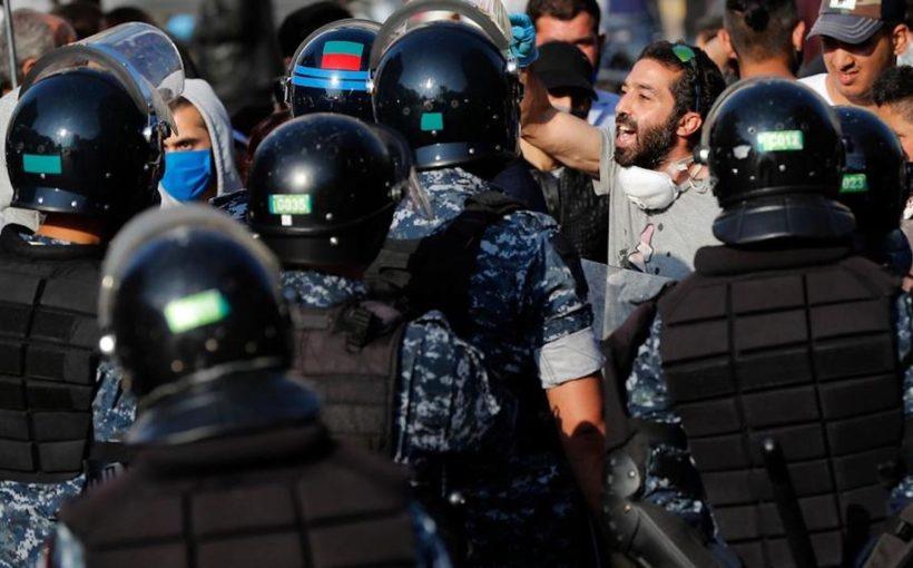 Ливанские демонстранты
